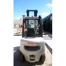 Вилочный погрузчик NISSAN YG1D2A30Q 2010 б/у