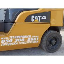 Вилочный погрузчик CATERPILLAR GP25N 2011 б/у