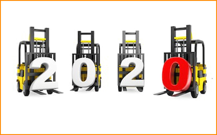 """Компания """"Техноподъем"""" поздравляет партнеров и дорогих клиентов с Новым годом и Рождеством 2020!"""