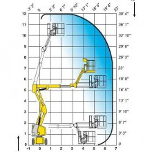 Аренда коленчатого подъемника HA12 IP